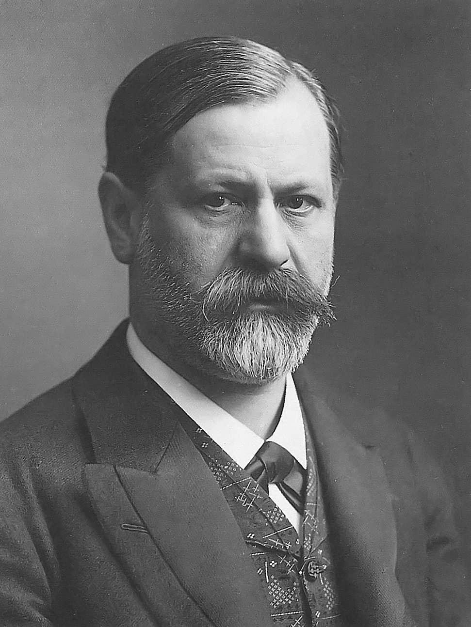 Sigmund Freud en 1905.