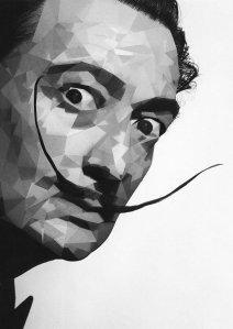 El bigote de Salvador Dalí.