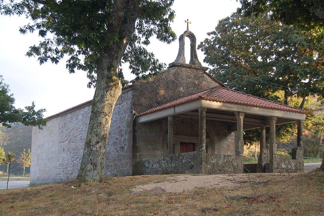 Capilla de San Xusto y San Pastor, San Xurxo de Sacos (Cerdedo-Cotobade). Foto: Adrián Estévez.
