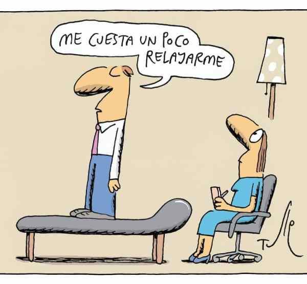 La Relajación según @Tutehumor